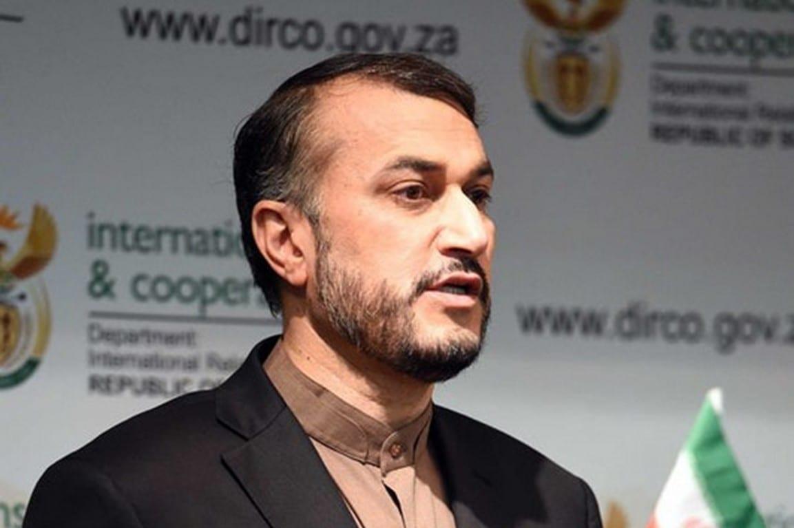 O ministro das Relações Exteriores do Irã, Hossein Amir-Abdollahian [Flickr]
