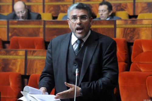 Mustafa Ramid, um líder proeminente do Partido da Justiça e Desenvolvimento do Marrocos (PJD) [Abdelhak Senna/AFP via Getty Images]