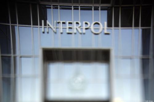 Prédio da Interpol, em 19 de outubro de 2007, em Lyon [FRED DUFOUR/AFP via Getty Images]