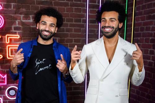 Mo Salah ganha trabalho de cera no Madame Tussauds