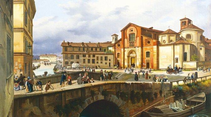Via Conca Del Naviglio Il Monitore Milanese