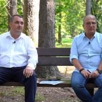 VIDEO. Mihai Voloșeniuc și Tinel Postelnicu, PMP, candidați la funcțiile de primar și consilier local, la Vatra Dornei