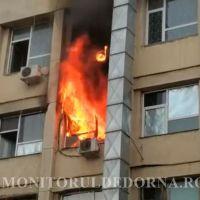 """FOTO/VIDEO. Incendiu violent la Spitalul de Copii """"Sfânta Maria"""" din Iași. Mai mulți pacienți au fost evacuați"""
