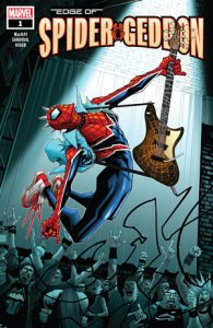 "Spider-Punk continuará el plot principal de ""Spider-Geddon"" en el número 1. ©Marvel Entertainment Inc."