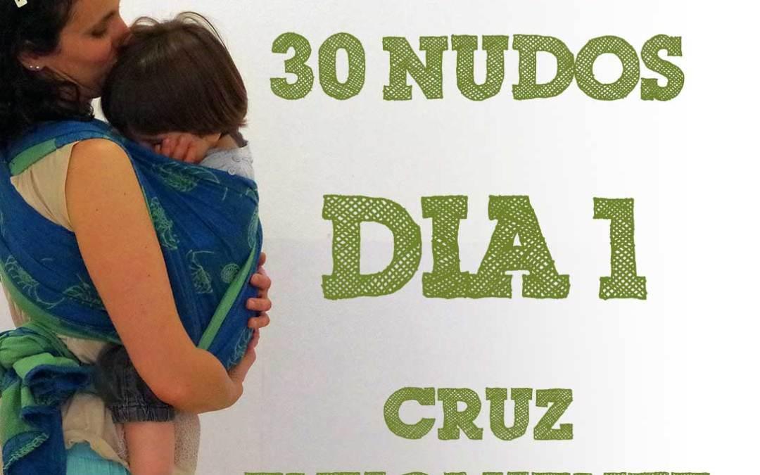 Día 1.- Cruz envolvente delante #30dias30nudos