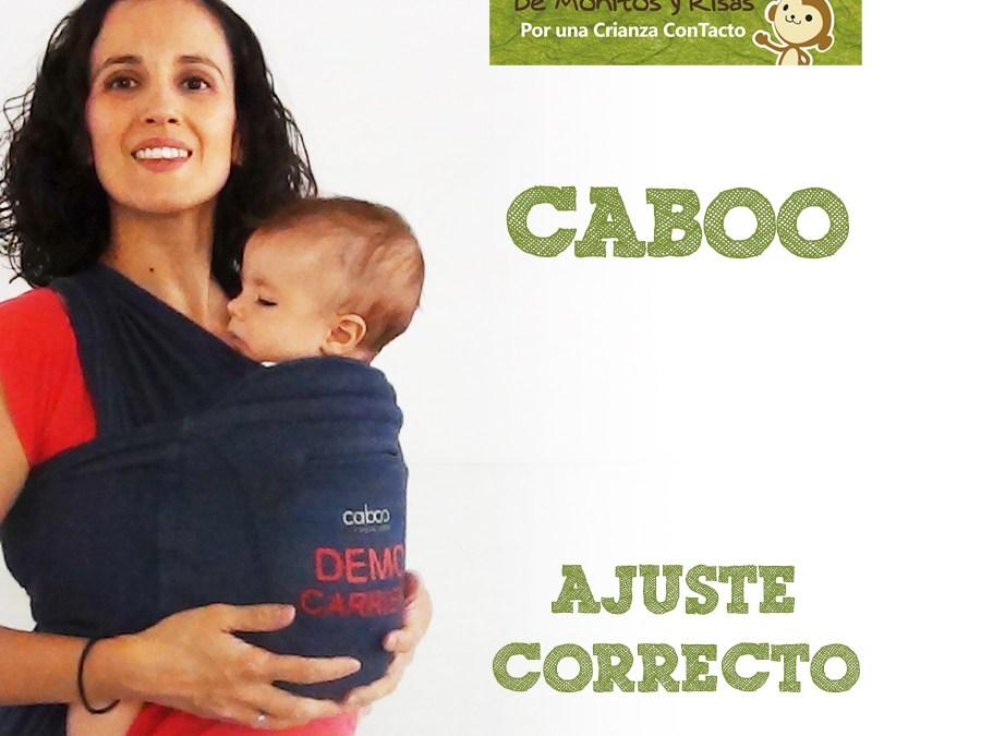 Ajuste correcto de la Caboo (mochila-híbrido)