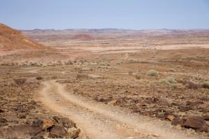 In der Nähe von Doros Crater