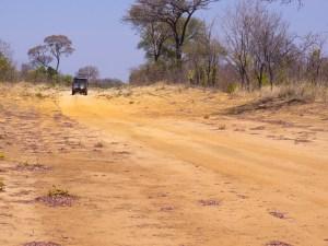 Auf der Hunters-Road freuen wir uns über die abwechselnden Farben der Erde.