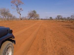 Auf der Hunters-Road werden wir zwischendurch auch an Australien erinnert.