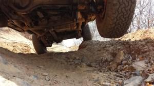 Teile der Leopards Hill Road sind eine Herausforderung.