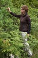Wir freuen uns ab dem satten Grün und den exotischen Pflanzen, die hier blühen.