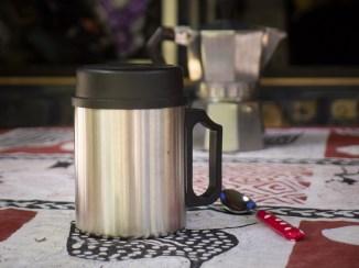 Jeden Morgen ein feiner Kafi aus dem Isolierbecher. Danke Lisbeth!