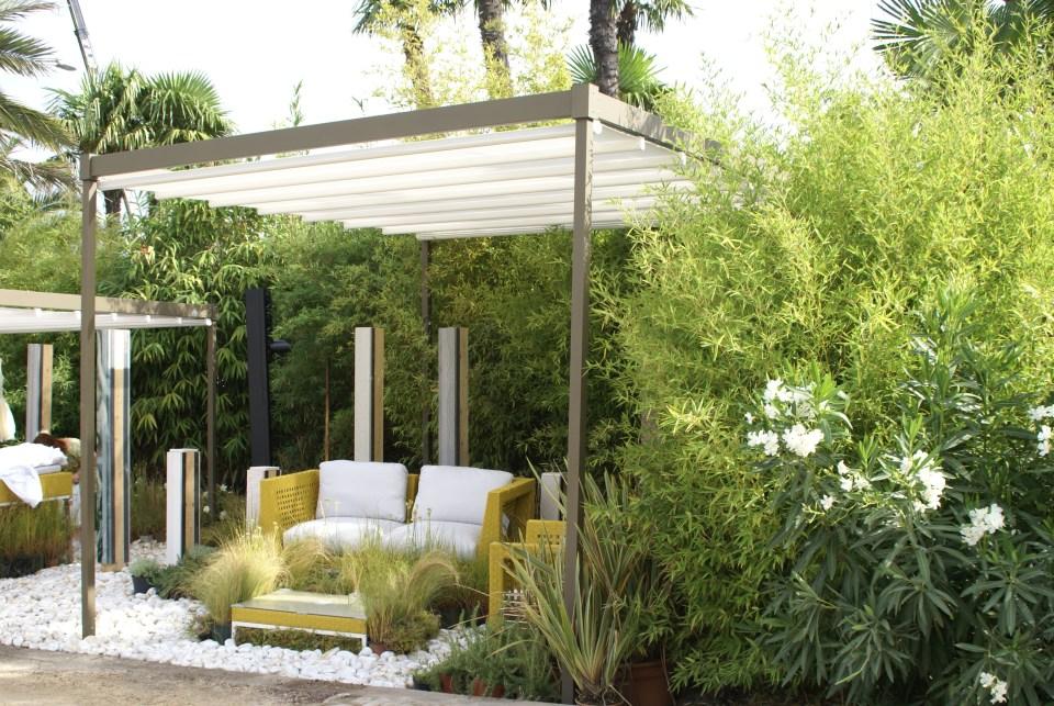 lit jardin contemporain