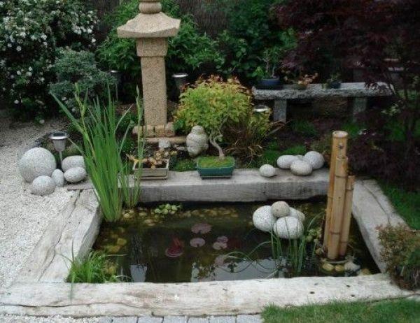 bassin contemporain japonisant