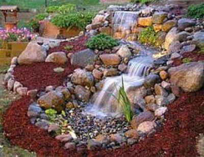 cascade sans bassin
