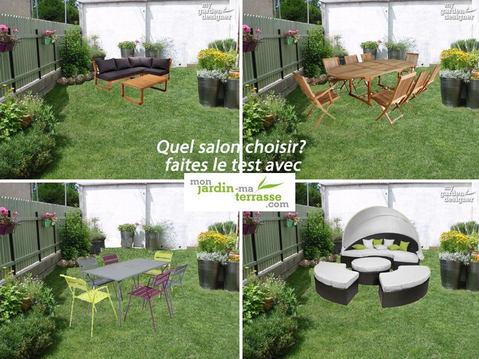 D coration de jardin et salon ext rieur monjardin Decoration jardin exterieur design