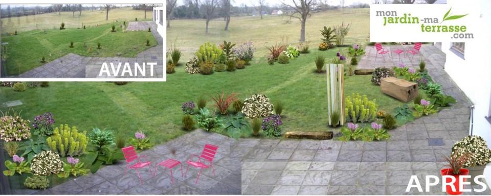 Creer un jardin à partir de rien
