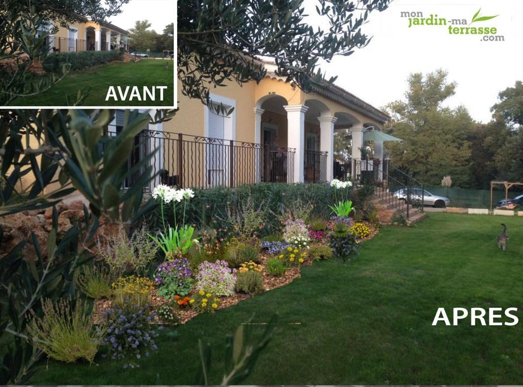 Jardin m diterran en monjardin - Creer un jardin mediterraneen ...