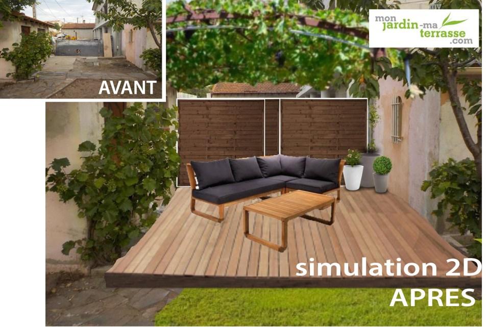 am nager un coin repos dans son jardin monjardin. Black Bedroom Furniture Sets. Home Design Ideas