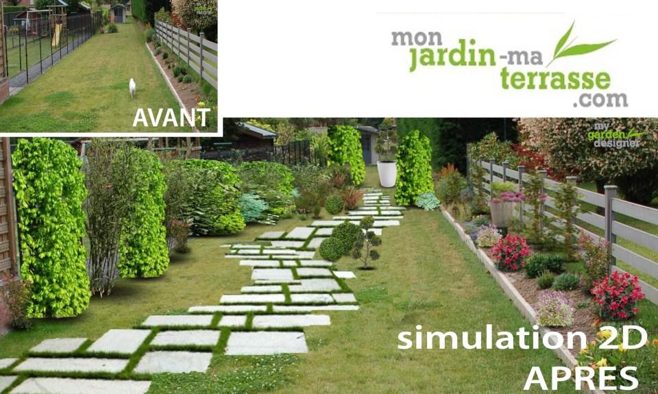 Comment aménager son jardin en longueur