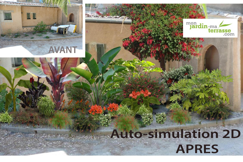Cr er un jardin exotique sous climat mediterran en - Creer un jardin mediterraneen ...