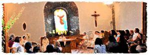 Lunes por la Paz en el monasterio de Suesa