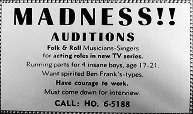 Image result for the monkees auditions