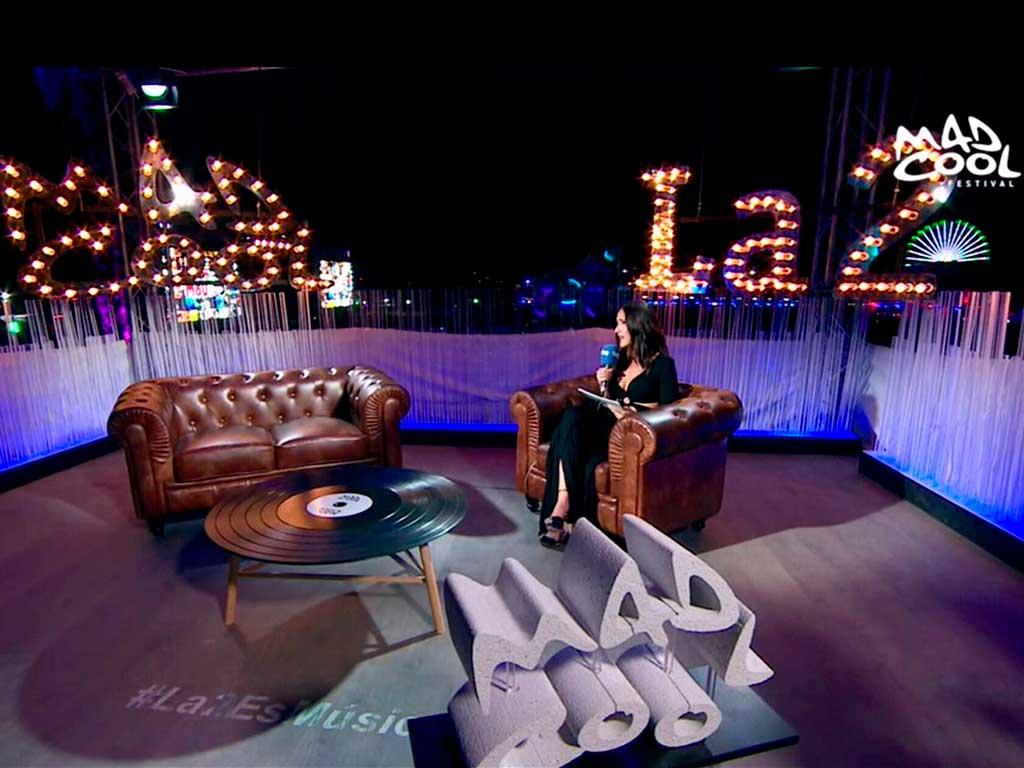 producción y realización de eventos para La 2. Mad Cool Madrid