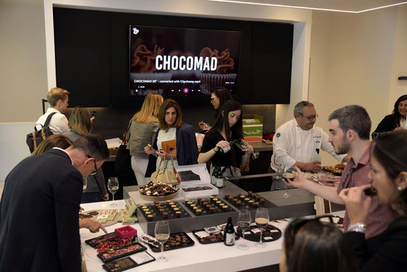 Salón del Chocolate de Madrid cata