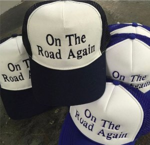 custom embroidered trucker hats