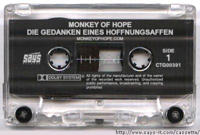 Monkey of Hope - Die Gedanken eines Hoffnungsaffen