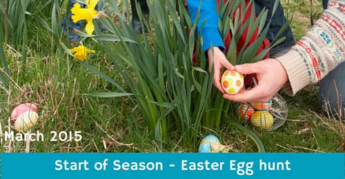 Monkey Tree Holiday Park easter egg hunt 2015