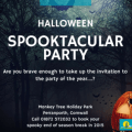 Halloween Spooktacular party 2015