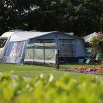 caravan pitches at Monkey Tree Holiday Park Cornwall