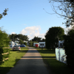 camping field at Monkey Tree Holiday Park