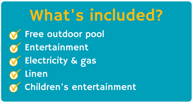 what's included at Monkey Tree Holiday Park