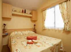 The Fistral Holiday Home bedroom at Monkey Tree Holiday Park