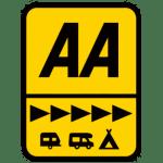 AA five star holiday park award