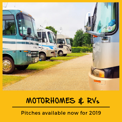 RV pitches Cornwall
