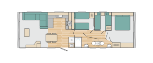 Bedruthan holiday home updated floor plan