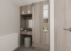 Bedruthan holiday home dressing table area