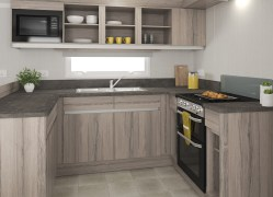 Bedruthan holiday home kitchen