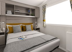 Bedruthan holiday home master bedroom