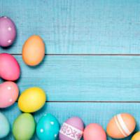 Easter egg hunt at Monkey Tree Holiday Park