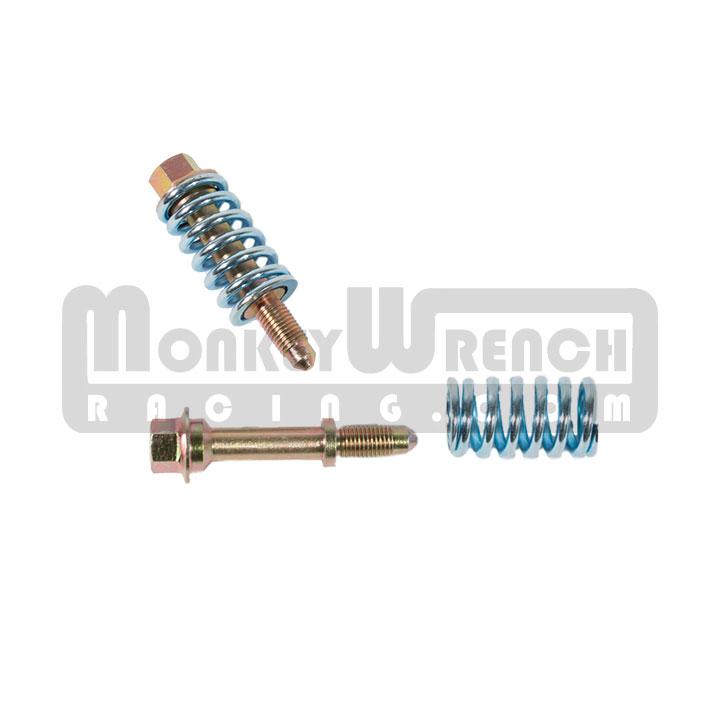 qrp bolt and spring kit exhaust manifold outlet 2zz 1zz 2gr muffler mr2 spyder 09 corolla