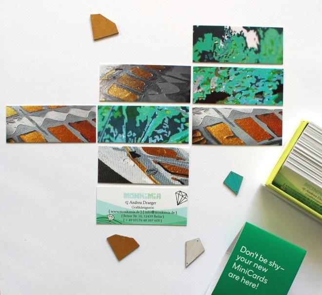 Meine Neuen Monkimia Visitenkarten Moo Grafikdesign