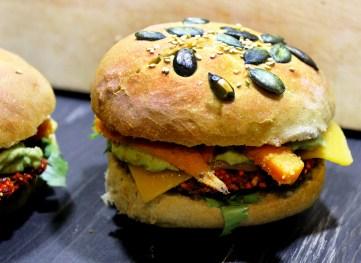 Burger rote Beete veggie