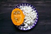 Kürbisbrot Rezept mit Cashews und Feta