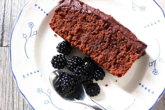Schokoladen Brombeer Kuchen