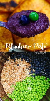 Blueberry Pesto Rezept